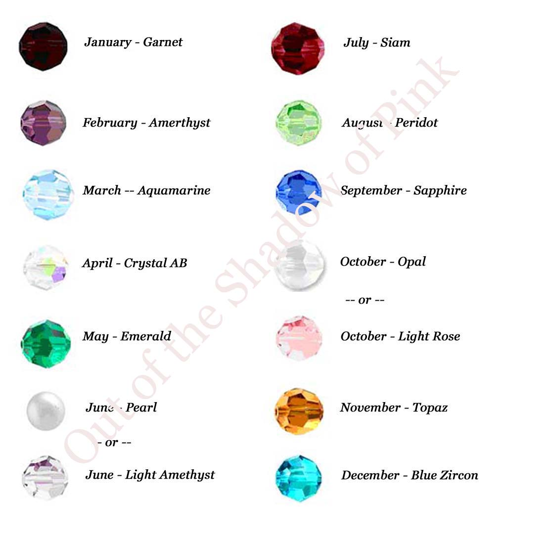 Image Result For October Birthstone Color