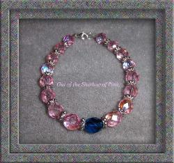 male-breast-cancer-bracelet-czech-glass  (click to enlarge)